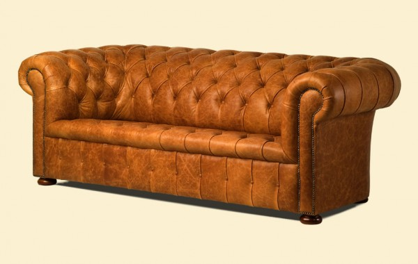 Chesterfield traditional 2 zit button seat