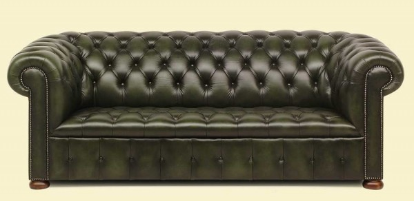 Chesterfield traditional button seat