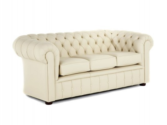 Chesterfield traditional high back single buttoned