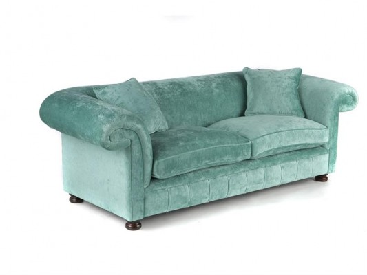 Chesterfield traditional in stof