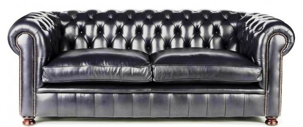 Chesterfield traditional low back soft cushion