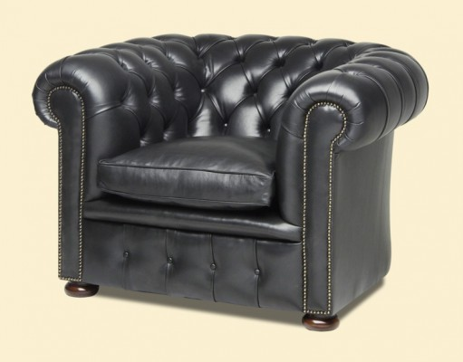 PM Chesterfield Black Sessel